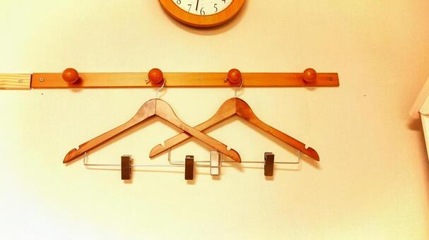 Two hangers
