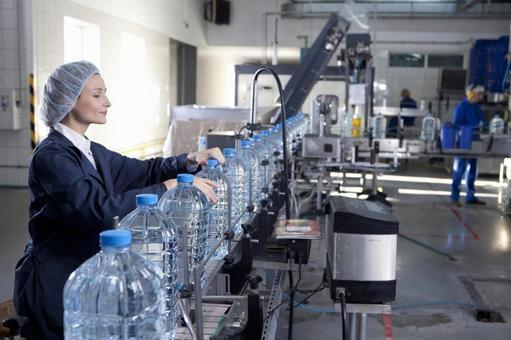 Female employee inspecting 13