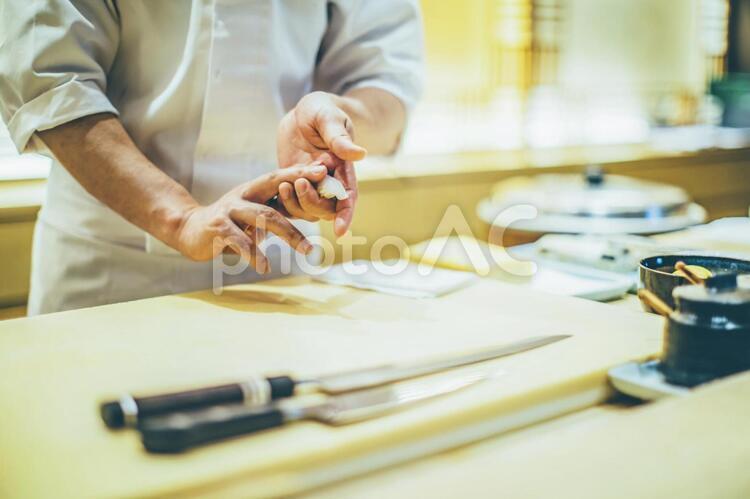 寿司職人の技41の写真