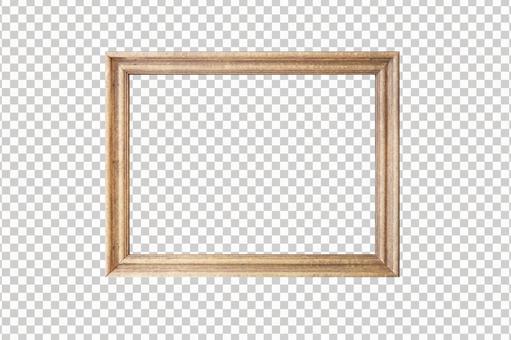 Wood grain frame | Cutout (transparent) frame