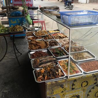 Vietnamese dining room