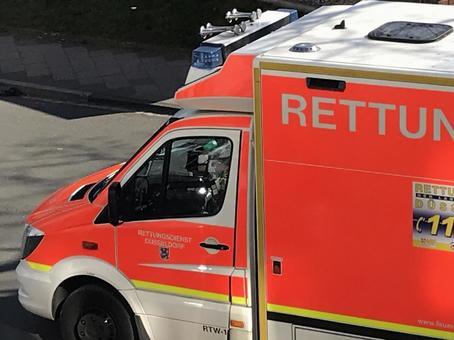 German ambulance forward up