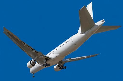 Airplane 17-2 Jet plane diagonally behind background transparent-PSD