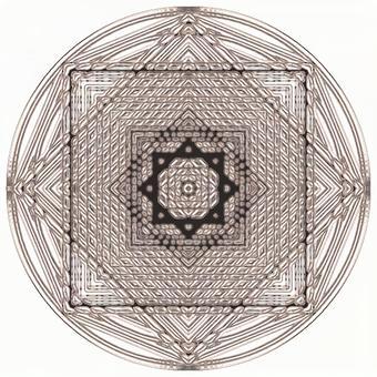 Texture magic circle