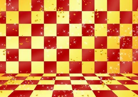 Checker pattern 07