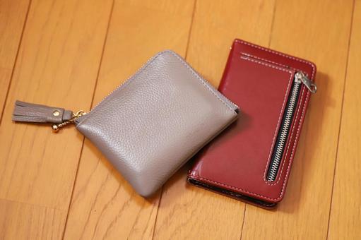 지갑과 스마트 폰