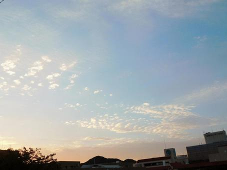 Autumn morning sky 5