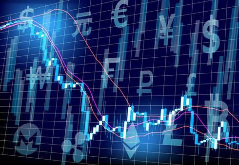 Various virtual currencies and charts
