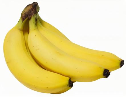 Banana (PSD with background transmission / cut-out pass)