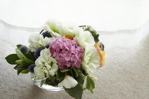 繡球花佈置