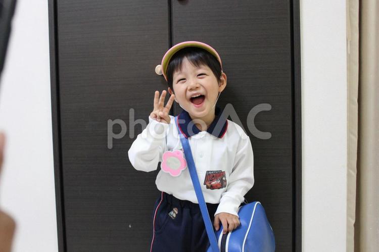 3歳 幼稚園の写真