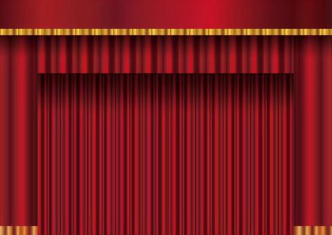 단장 막을 커튼 드레이프 벨벳 무대 무대 발표회 문화제 체육관