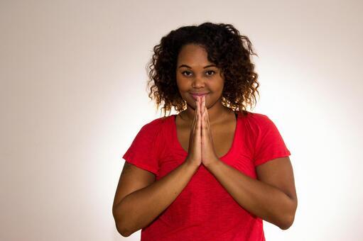 흑인 여자 포즈 32