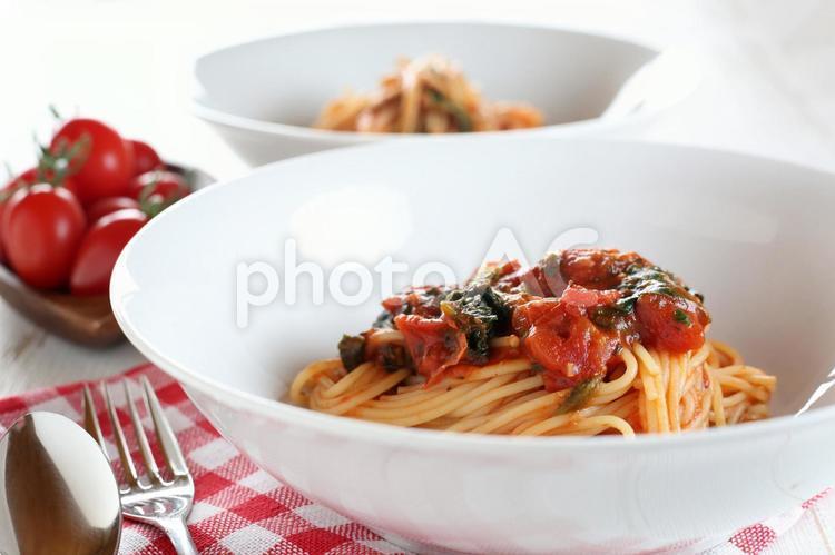 スパゲッティ ポモドーロの写真