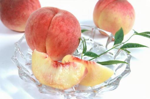 Peach thigh peach peach cut peach