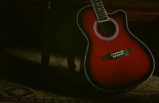 붉은 기타