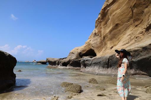 千倉石窟種子島
