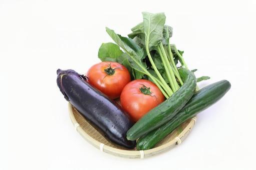 Summer vegetables that entered the monkey 4