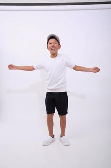 Children who exercise gymnastics 1