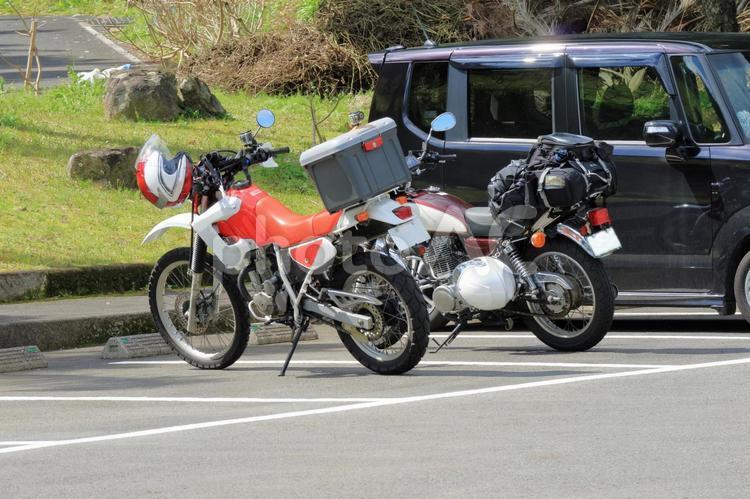 バイク ツーリングの写真