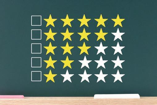 Star evaluation / assessment image