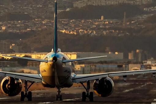 Airport Plane (Itami Airport) 107