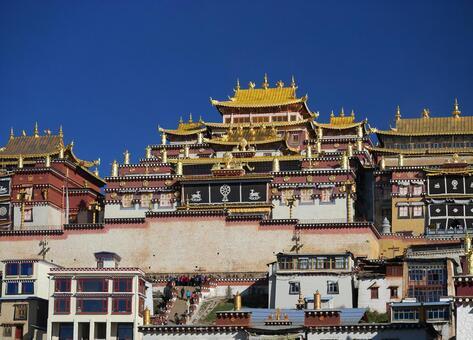 雲南省藏廟