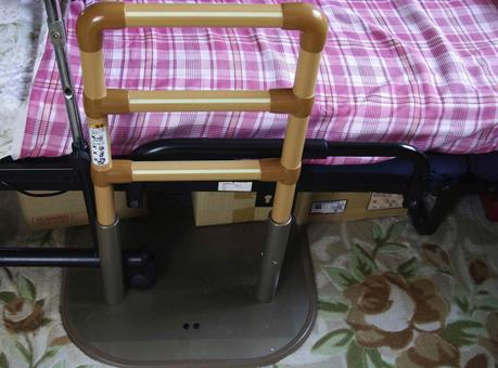 Care bed fall prevention fence 1