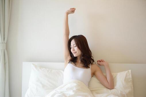 Waking-up lady 5