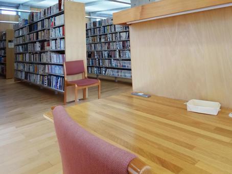 Library self-study desk