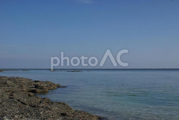 シンリ浜 久米島の写真