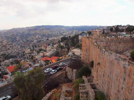 Middle East View from Jerusalem Old Town