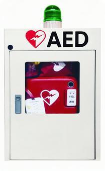 AED Automatic External Defibrillator Cutout Psd