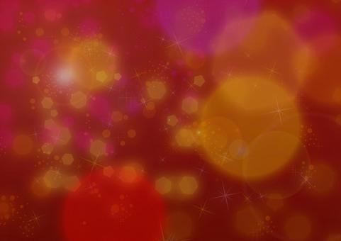 Crimson glitter background