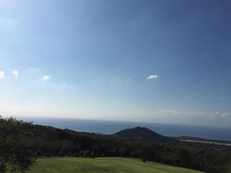 이즈 오시마의 뒷면 사막에서 보는 바다 05