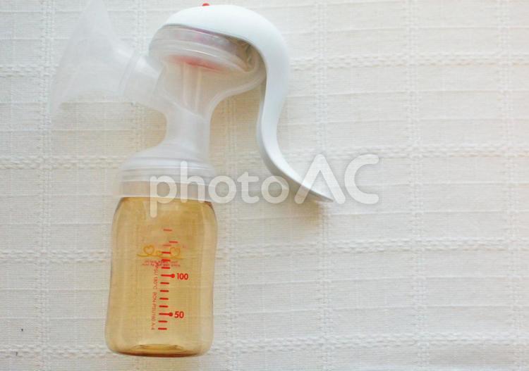 搾乳器の写真