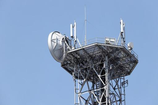 Antenna communication tower radio tower