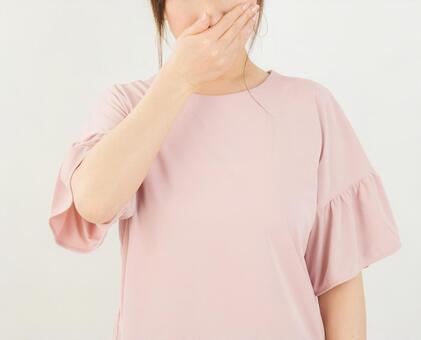 코를 억제 여성
