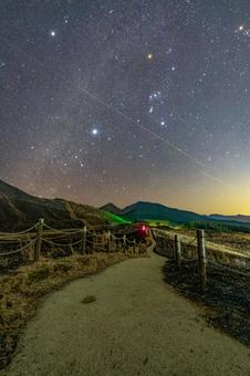 Nara Prefecture [Soni Highlands: Milky Way in winter, Orion, Winter Triangle]