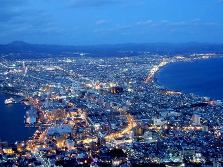 Night view of Hakodate (2)