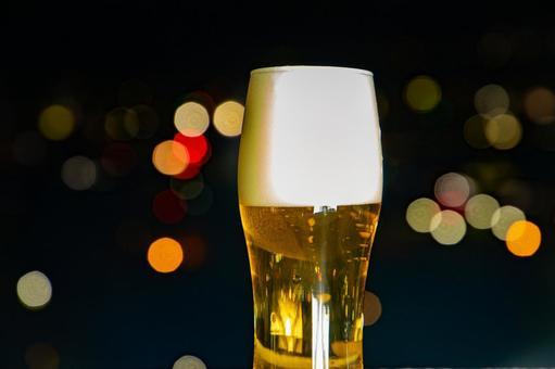 맥주와 야경