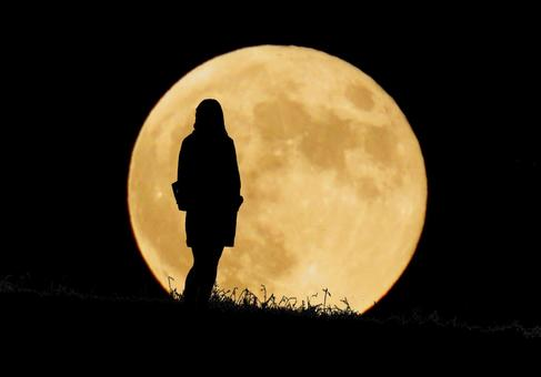 Moon and women