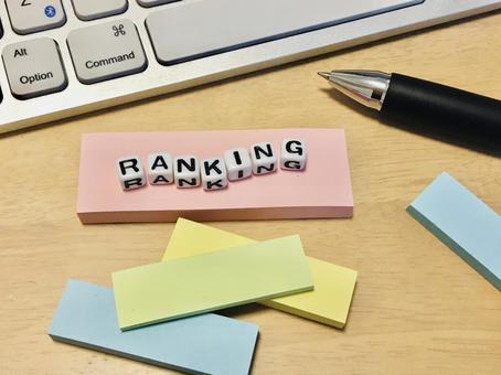 Ranking sticky notes