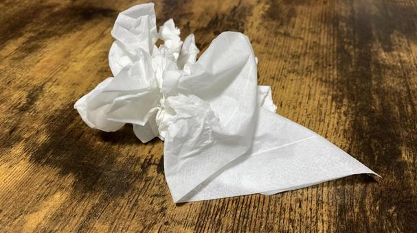 Nose-blown tissue