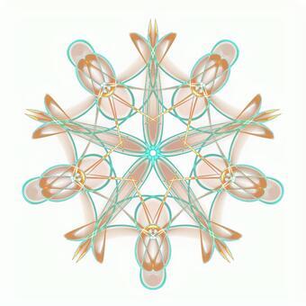 Fantasy pentagonal PSD background through 20201006_008