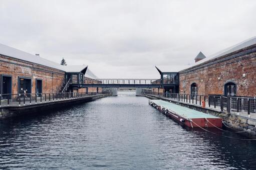 카나 모리 아카 렌가 창고 하코다테 운하 (Hakodate, Hokkaido)