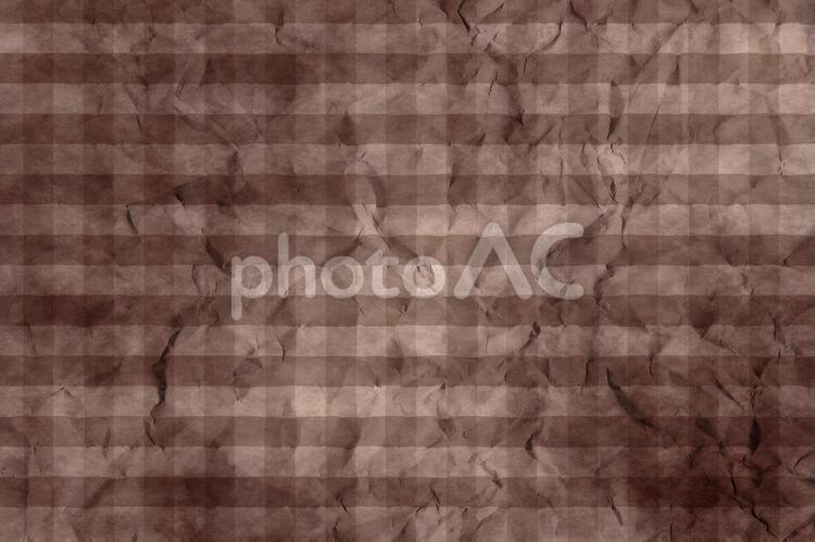 しわのある和紙 彩雲 ギンガムチェック柄 ちぢれ 凸凹 テクスチャ 36の写真