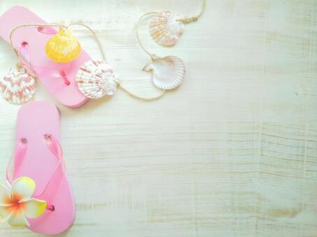 Flip flops and shells