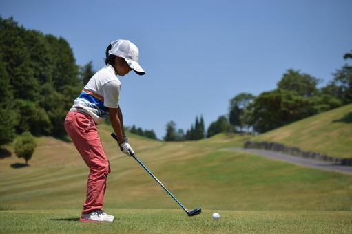Golf: Routine