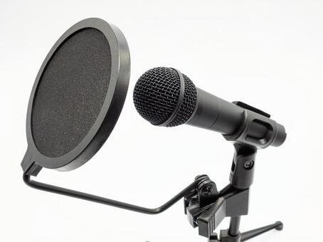 집에서 노래를 녹음 기재
